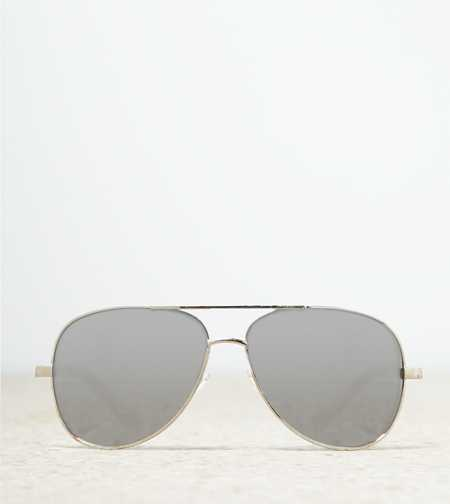 AE Silver Aviator Sunglasses - Buy One Get One 50% Off
