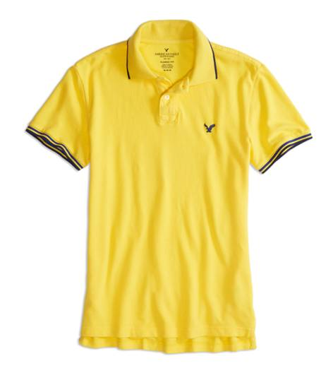 Canary AEO Factory Tipped Polo