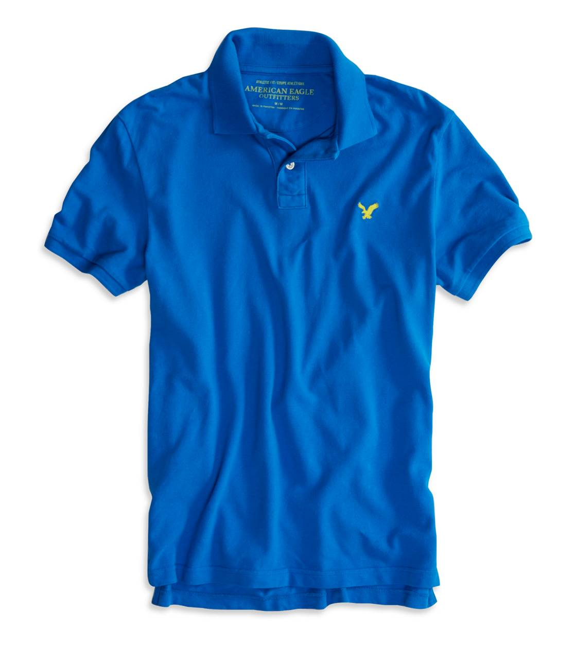 Gravity Blue AEO Factory Solid Polo