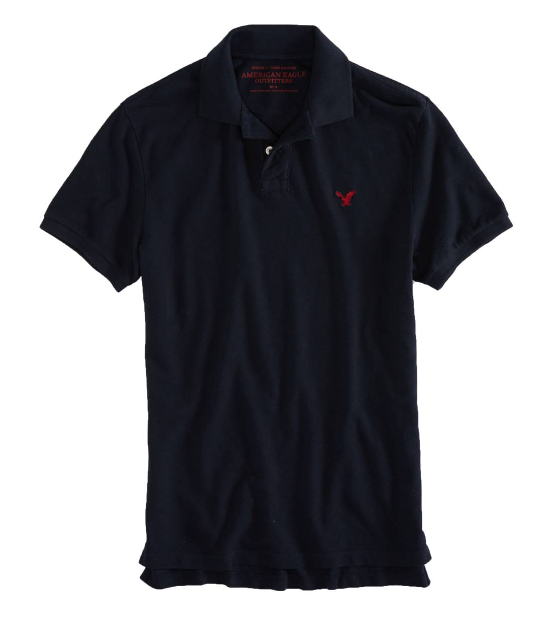 Fleet Navy AEO Factory Solid Polo