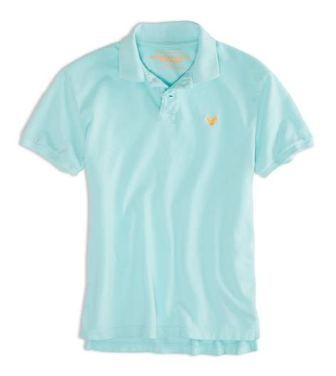 Ocean Mist AEO Factory Solid Polo