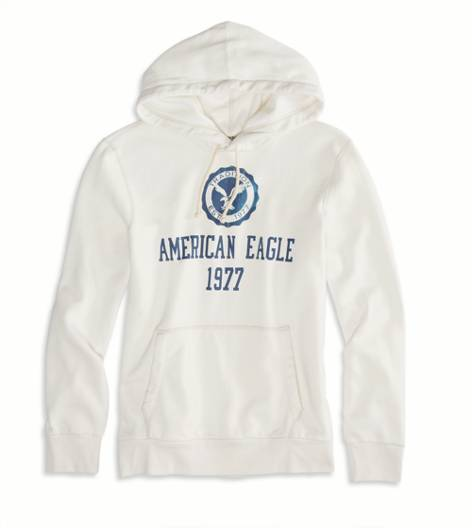 Chalk AEO Factory Signature Hooded Pop Over