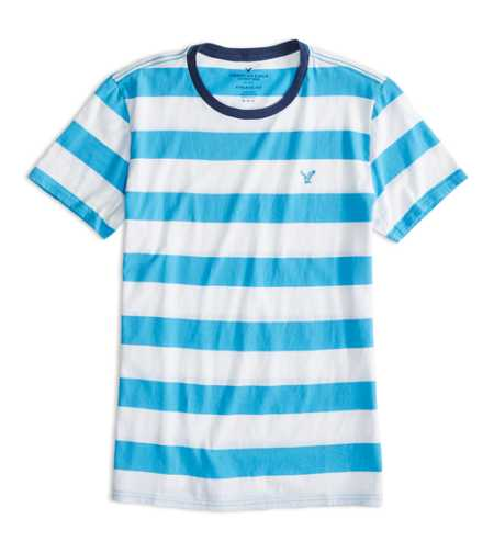 AEO Factory Striped T-Shirt