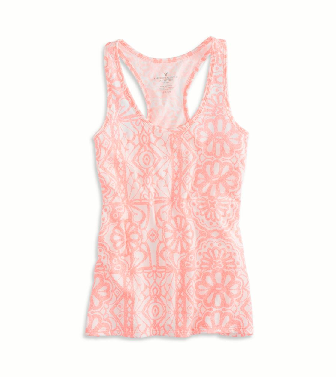Knockout Pink AEO Factory Favorite Tank