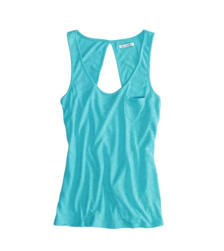 AEO Factory Cutout Pocket Tank