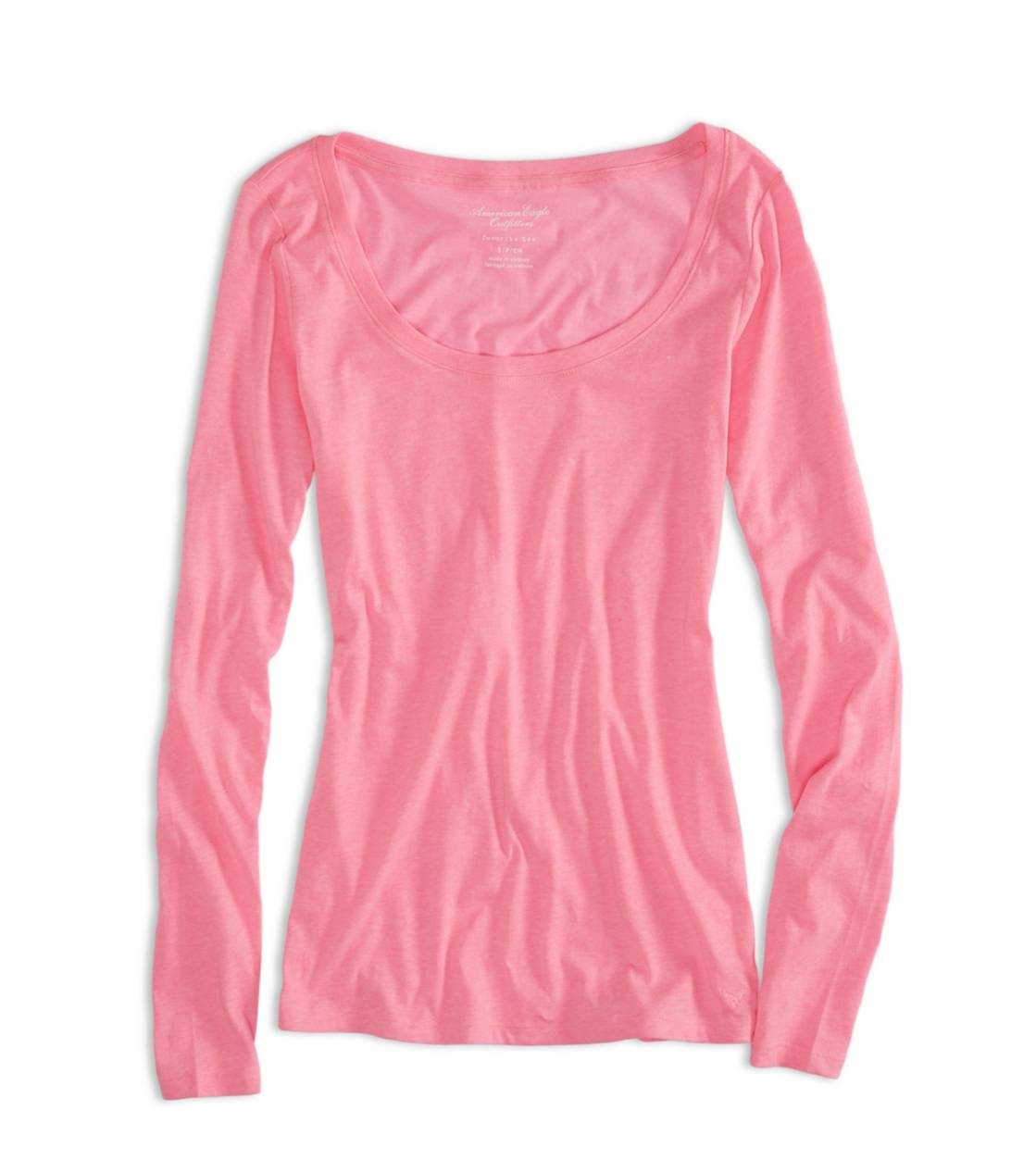 Voltage Pink AEO Factory Favorite T-Shirt