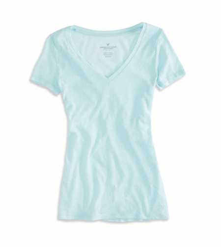 AEO Factory Favorite V-Neck T-Shirt