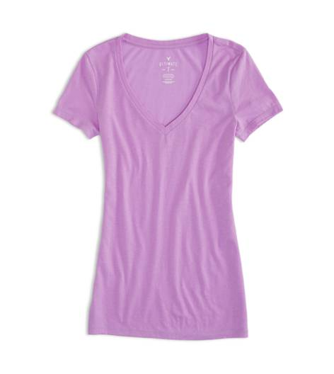 Prestige Purple AEO Factory V-Neck Ultimate T-Shirt