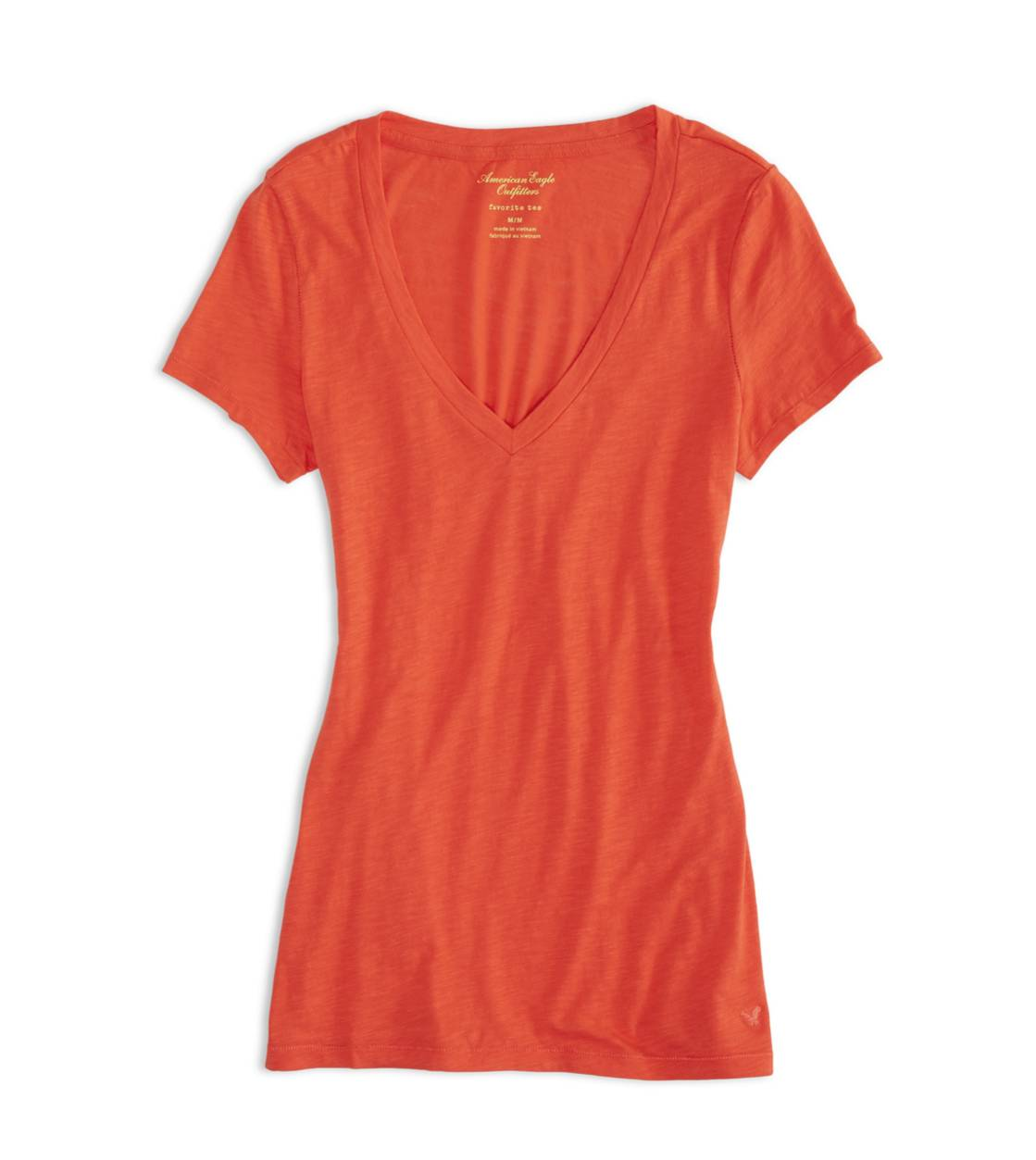 Macaroon AEO Factory V-Neck Favorite T-Shirt