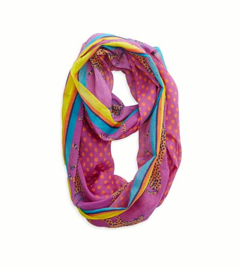 Purple Zinc Aerie Loop Scarf