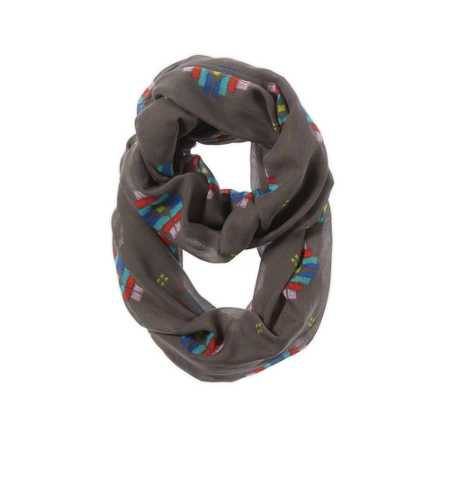 Aerie Printed Loop Scarf - Take 25% Off