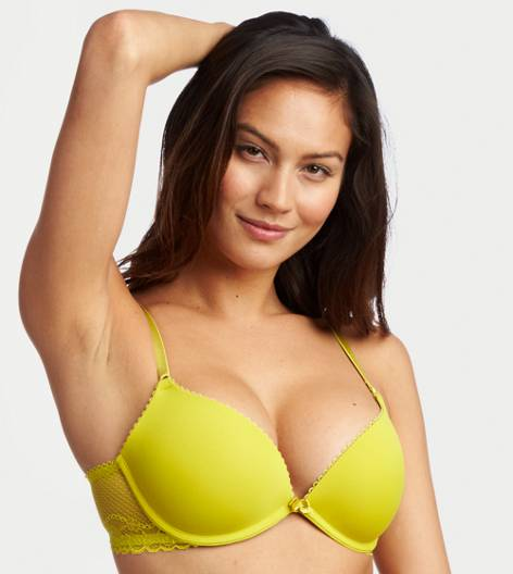 Green Rush Emma Pushup Bra