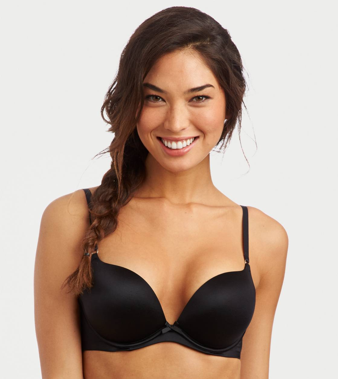 True Black Drew Pushup Bra