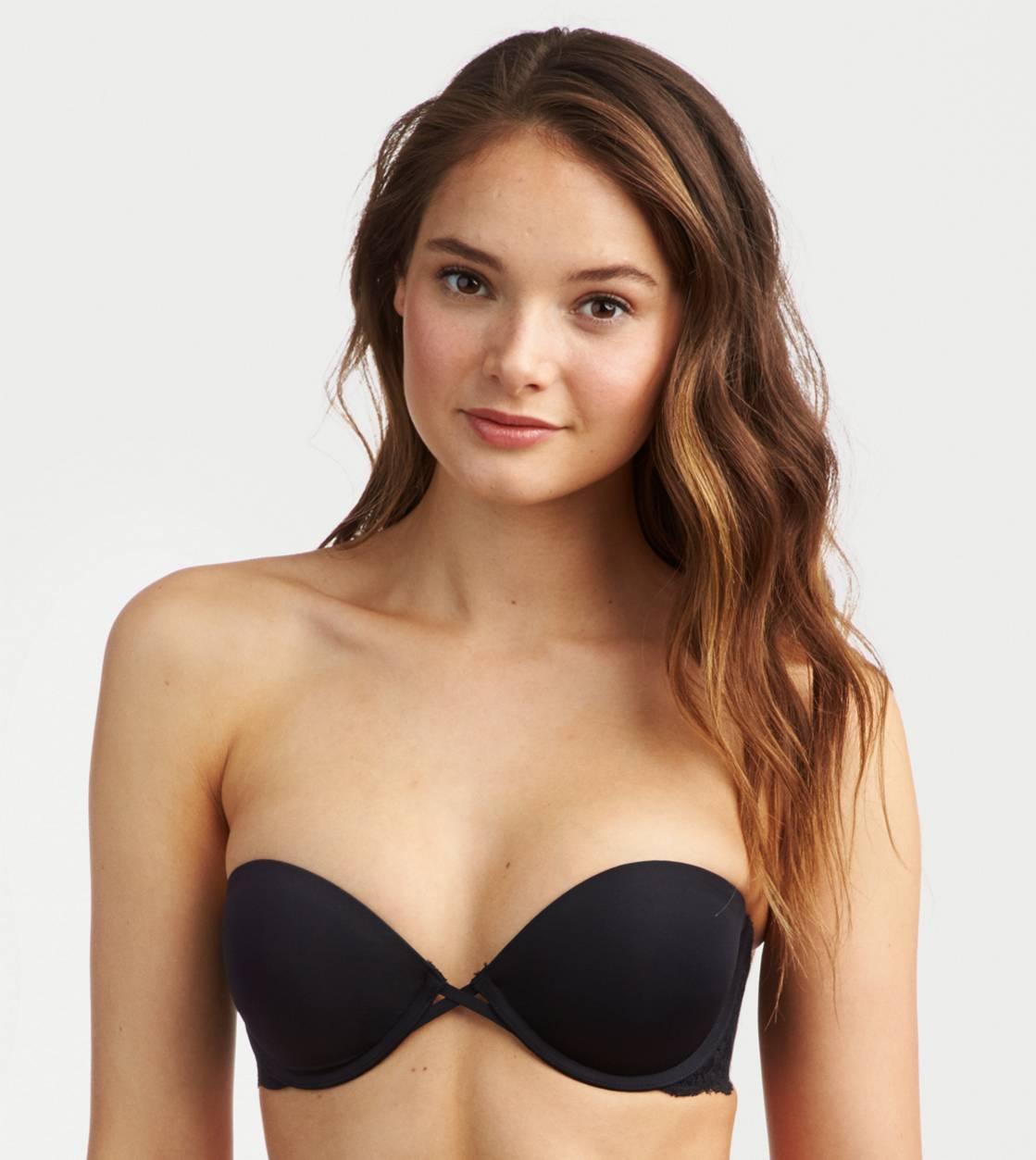 True Black Maddie Multi-Way Pushup Bra