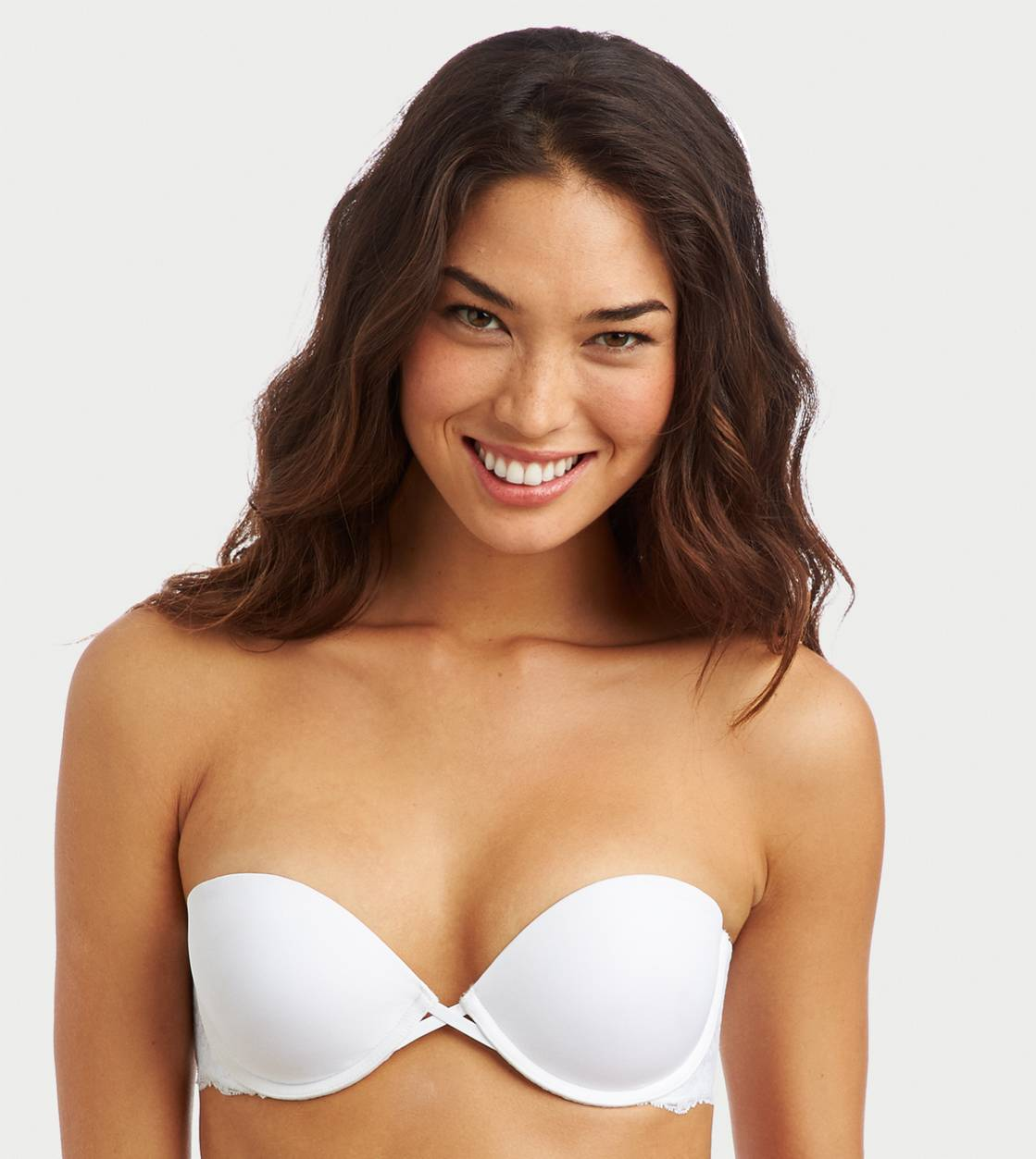 White  Maddie Multi-Way Pushup Bra