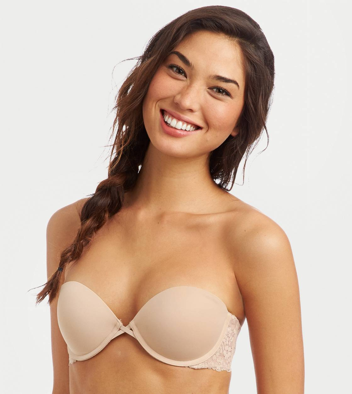 Natural Nude Maddie Multi-Way Pushup Bra