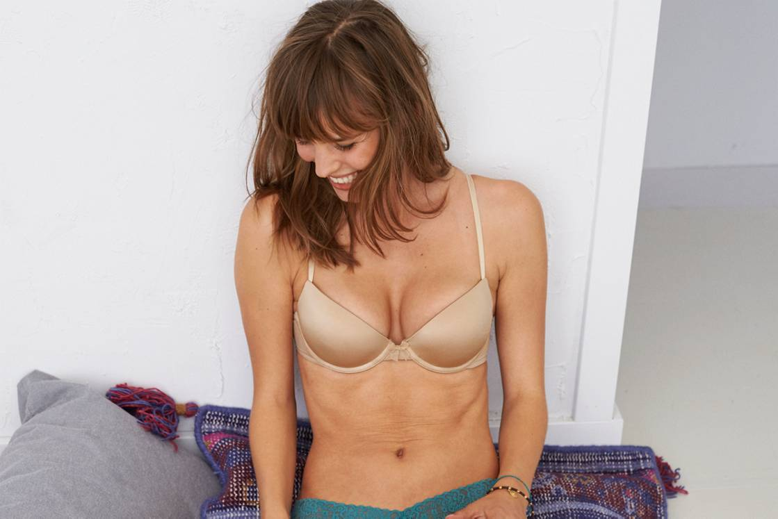 Dark Nude Ella Gel Pushup Bra