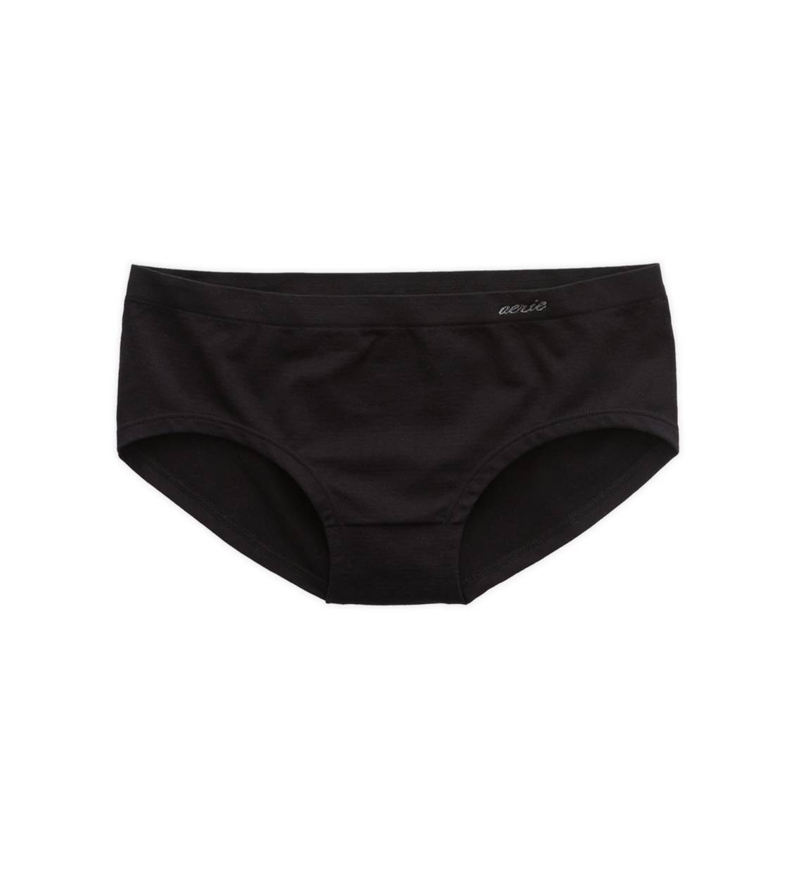 True Black Aerie Seamless Boybrief