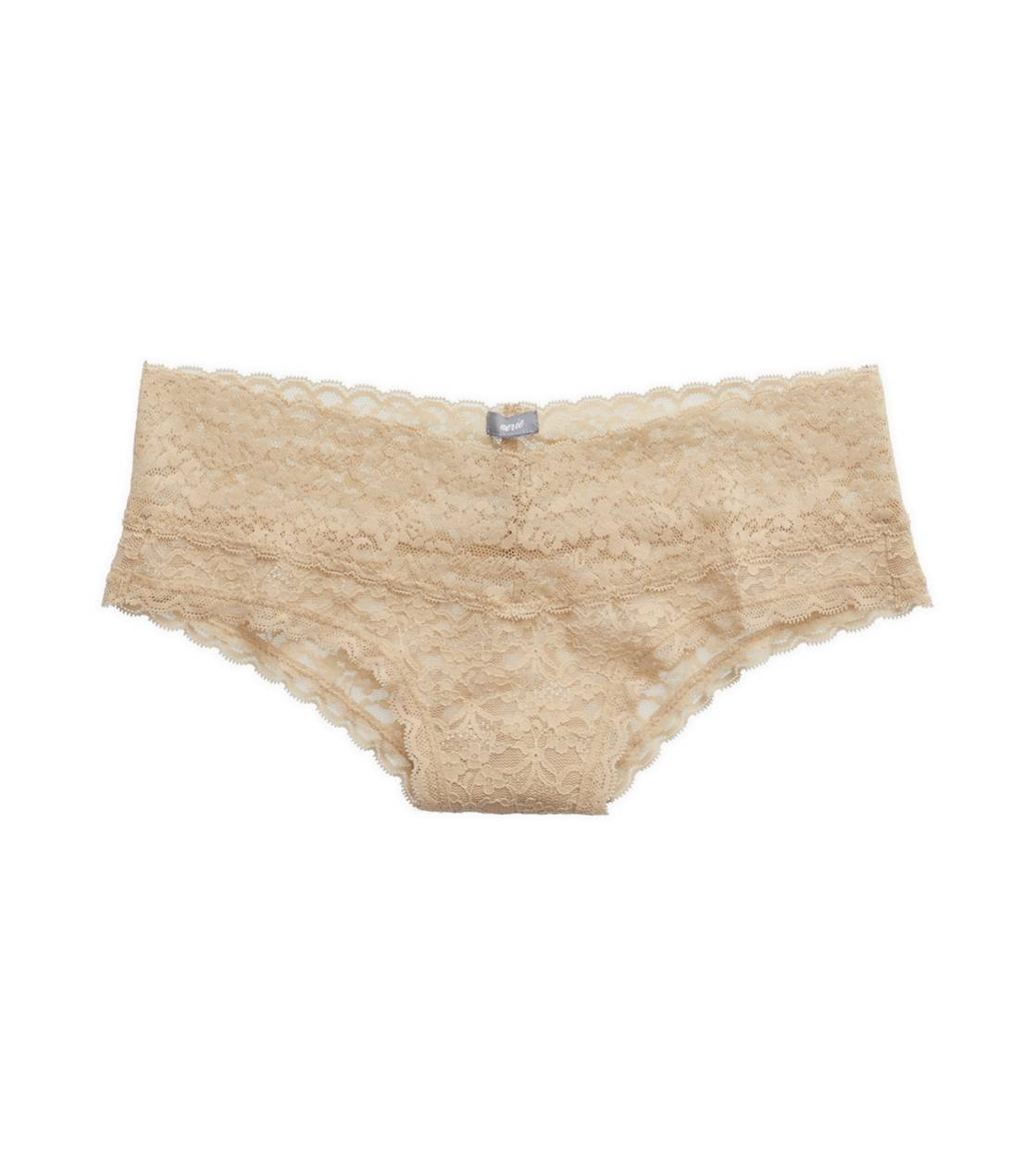 Natural Nude Aerie Vintage Lace Cheeky
