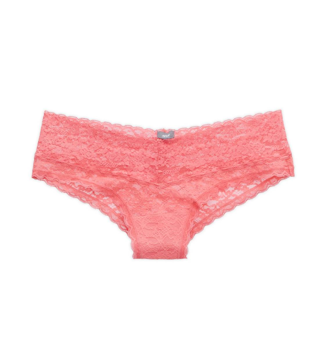 Candied Rhubarb Aerie Vintage Lace Cheeky