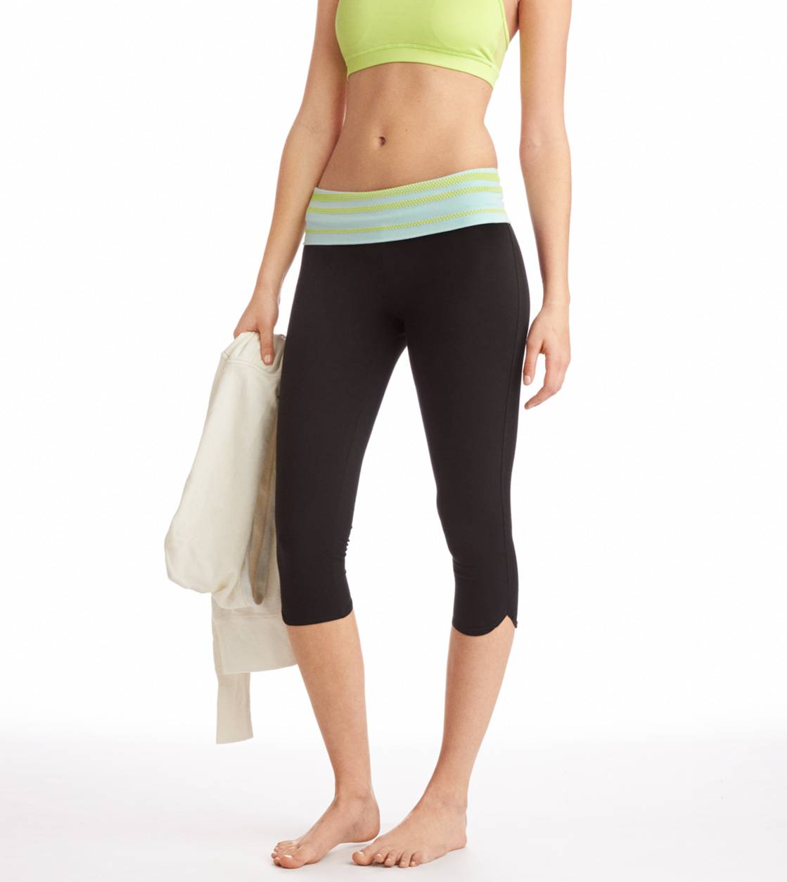 Spring Break Aerie Neon Stud Crop Yoga Pant