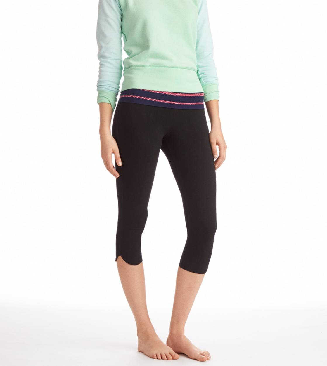 Royal Navy Aerie Neon Stud Crop Yoga Pant