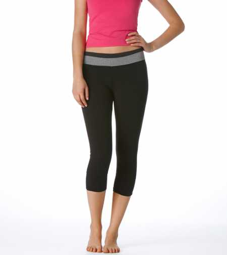 Aerie Colorblock Crop Pant - Take 25% Off