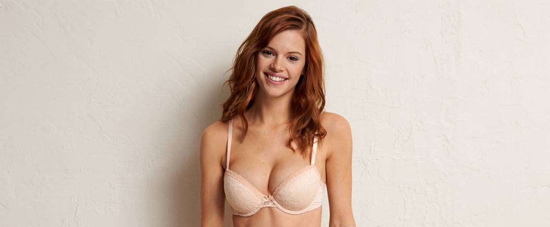 Buff Blakely Lightly Lined Signature Lace Bra