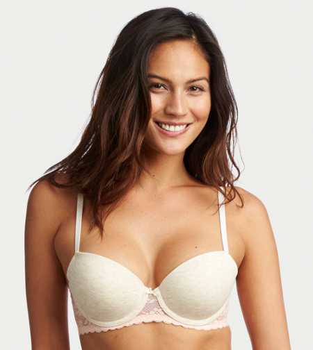 Blakely Cotton Lightly Lined Bra - Free Shipping & Returns