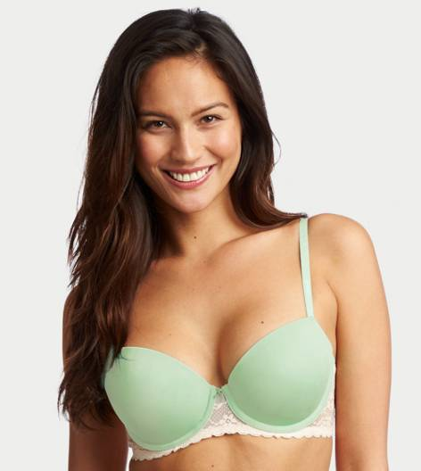 Mist Green Blakely Lightly Lined Bra