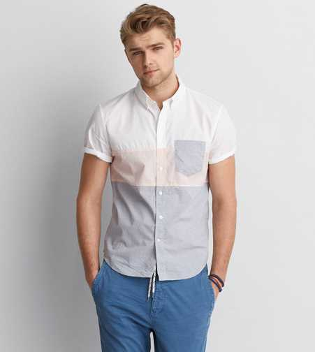 AEO Print Short Sleeve Shirt