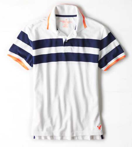 AEO Striped Polo  - Buy One Get One 50% Off