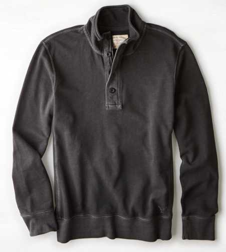 AEO Vintage Fleece Mock Neck Sweatshirt - Buy One Get One 50% Off