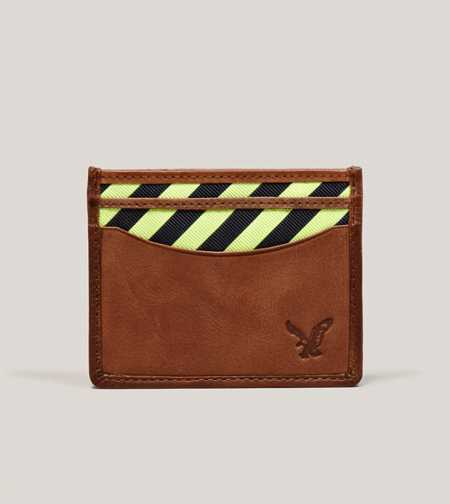 AEO Striped Slim Wallet