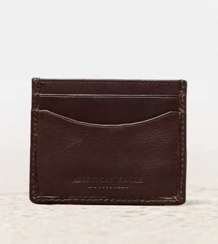AEO Leather Slim Wallet