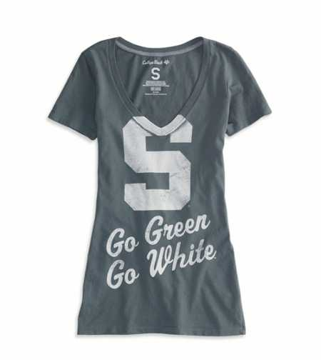 Michigan State Vintage Short Sleeve T