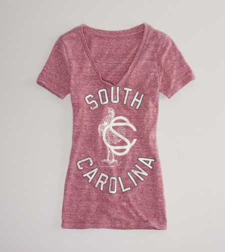 South Carolina Vintage V-Neck T