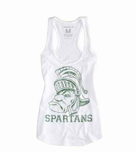 Michigan State Vintage Tank