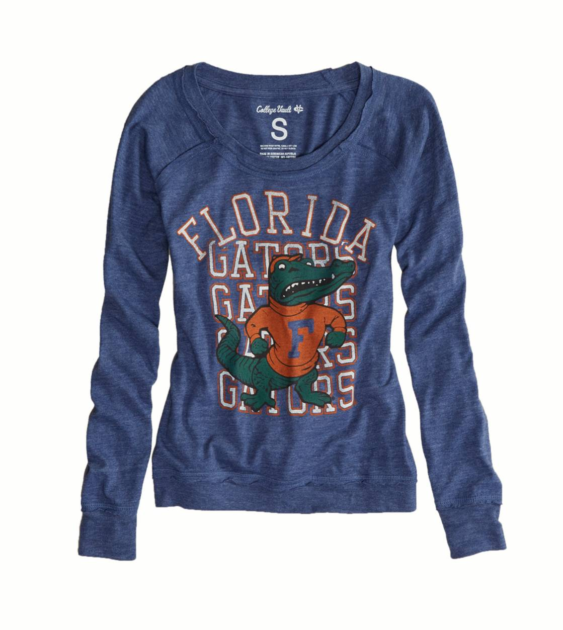 Blue Florida Vintage Long Sleeve T-Shirt