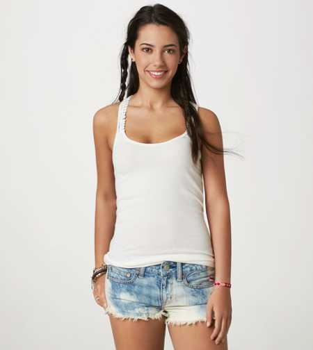 AE Crocheted Boyfriend Tank - Take 40% Off