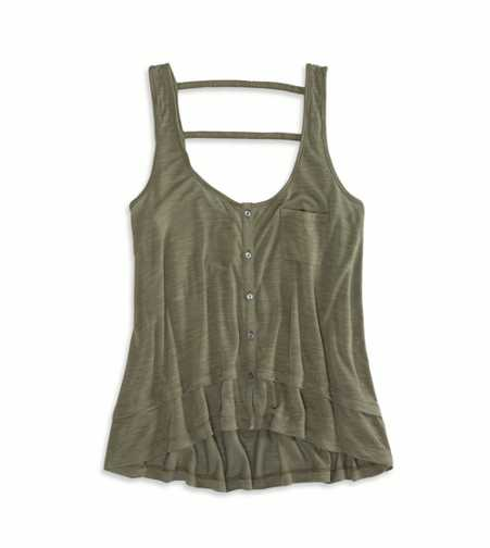 AEO Flowy Button Front Tank