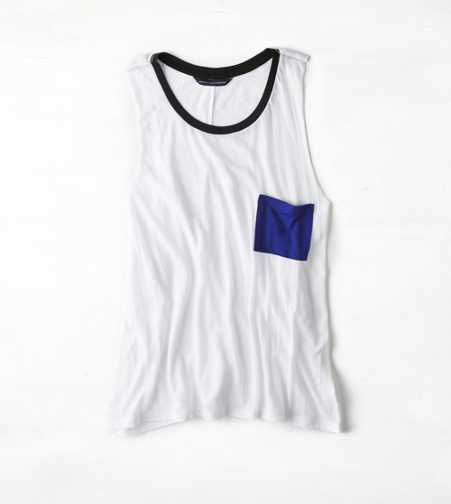 AEO Colorblock Muscle Tank
