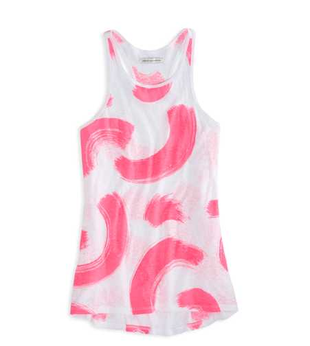 AEO Brush Printed Tank