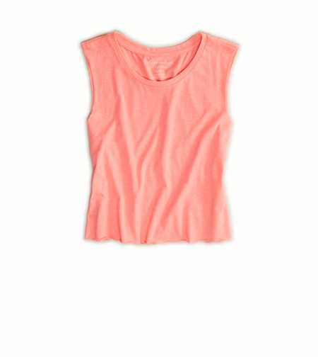 AE Cutoff Crop Tank
