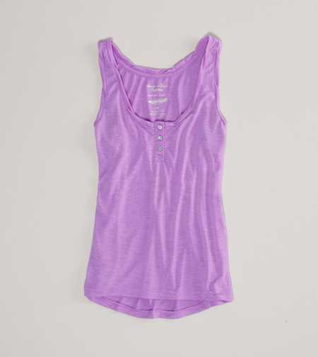 AE Feather Light Henley Tank