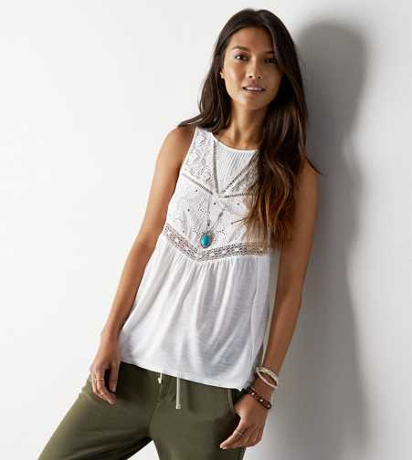 AEO Lace Top Tank