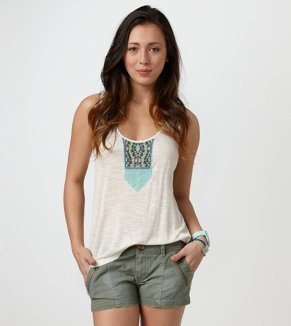 AE Beaded Embroidery Tank