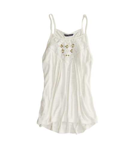 AE Embroidered Sequin Tank