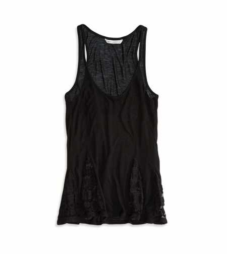 AE Paneled Lace Tank
