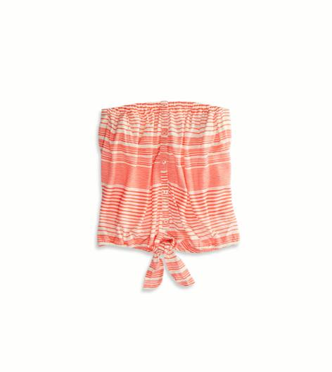 Neon Paradise AE Striped Tube Top